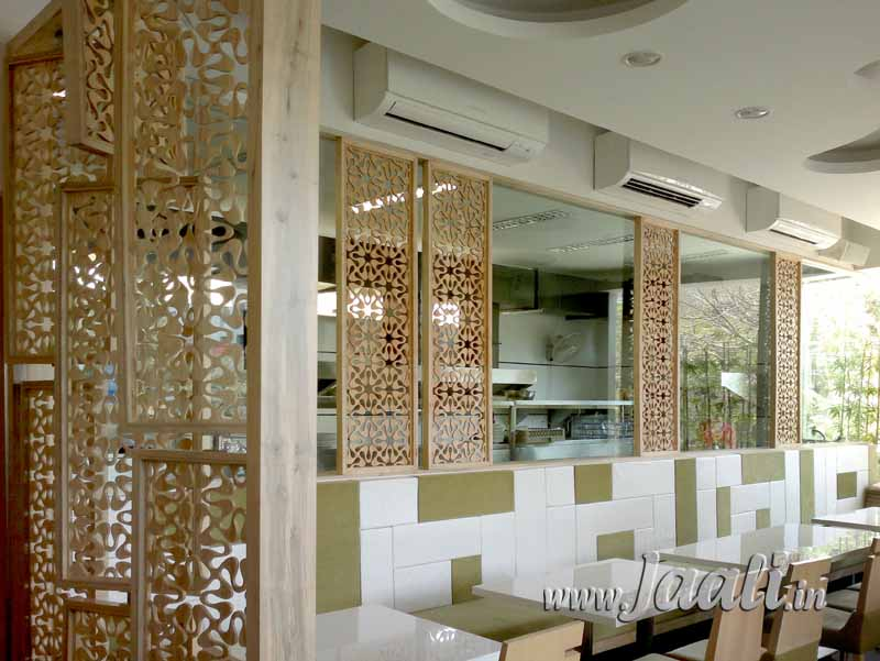 015 12mm Agro Wood Jaalis used as Partition
