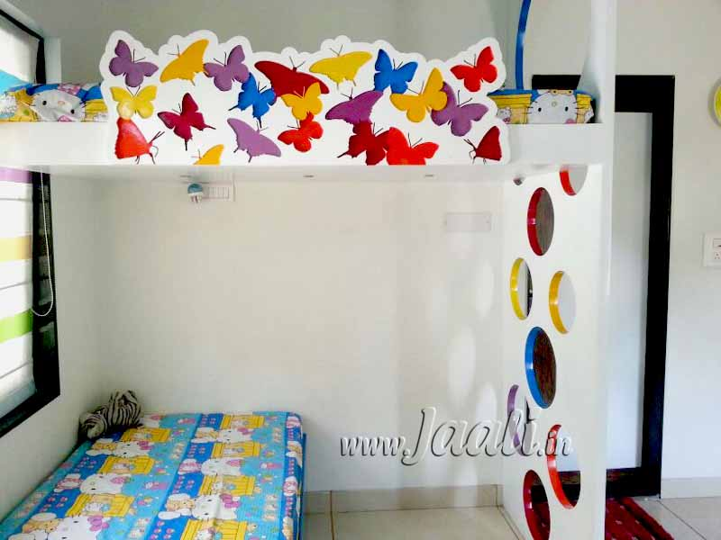 018 25mm MDF (Butterfly Design) with 3 Layer Engraving + 30mm MDF (Circle Design) Staircase