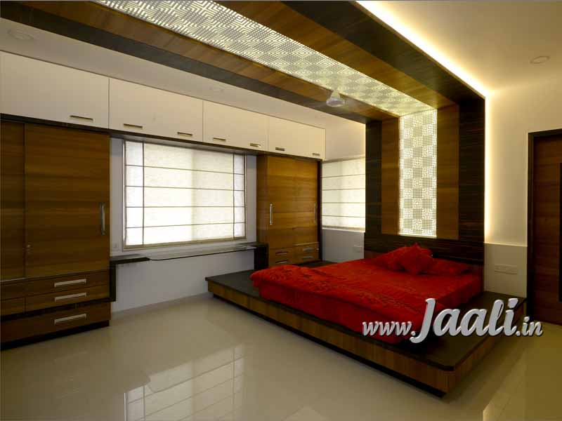 019 12mm MDF Jaali for Bedback & Ceiling