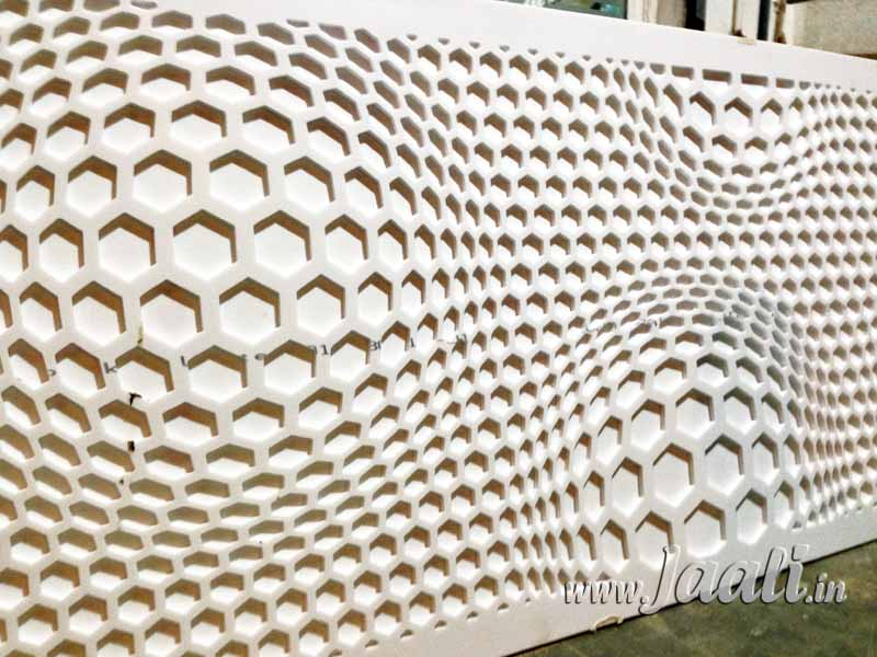 020 12mm Solid Surface deep Engraved Panel for Backlighting