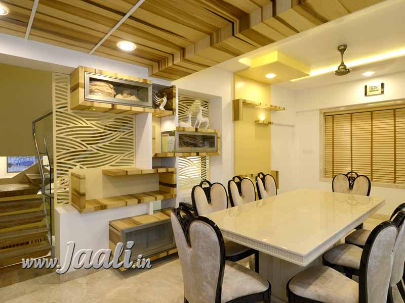058 12mm MDF Jaali for Kitchen Partition