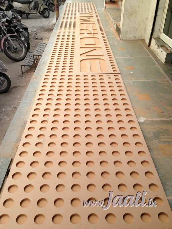 061 24mm MDF Deep Engraved Panel