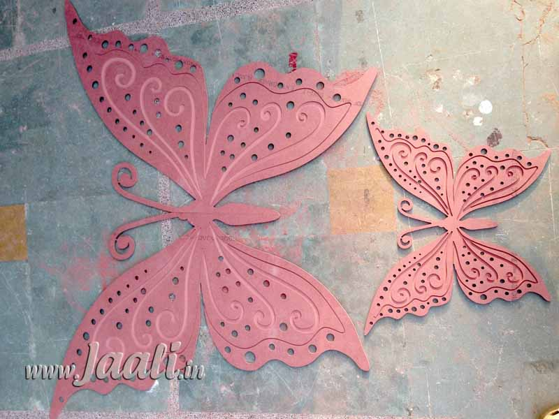 070 12mm MDF Butterfly Engraved & Cut