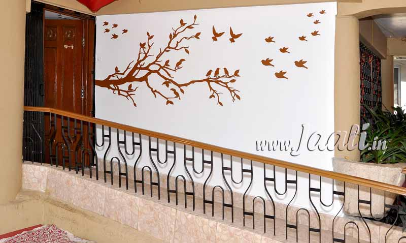 074 12mm Grade-1 MDF Tree with Exterior Paint