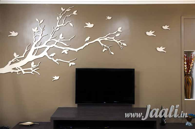 075 12mm Grade-2 MDF Tree with Luster Paint