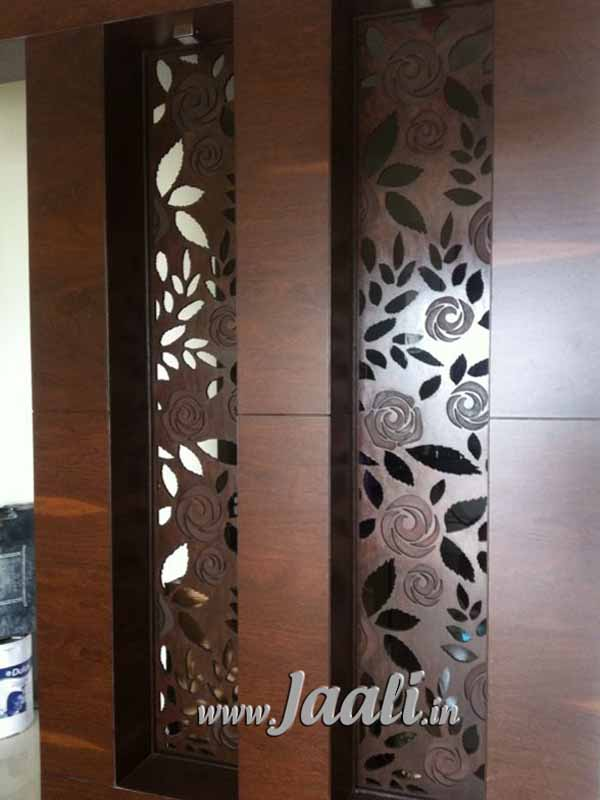 097 12mm  MDF Jaali Engraved & Cut for Partition