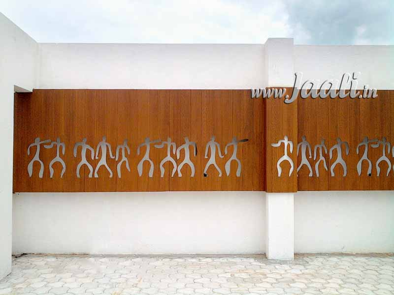 105 8mm Textured Cement Sheet Cutouts on Terrace Area